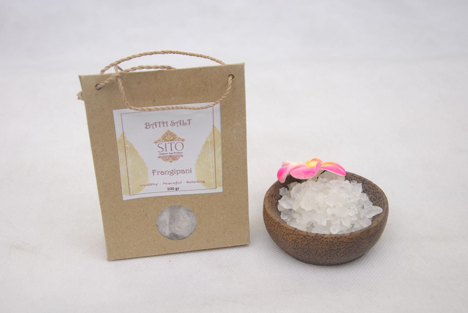 Bath Salt Frangipani